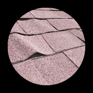 calgary roofing repair signs of aging roof buckling